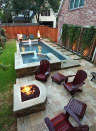 Landscaping Ideas For Big Backyards by Best 25 Small Backyard Pools Ideas On Pinterest Small Pools