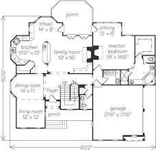 southern living house plans with basements port gibson southern living garage is on opposite side of kitchen
