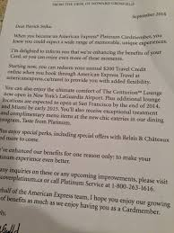 American Platinum Desk Rewards Canada Oct 6 Update The Platinum Card From American
