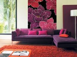 Best Pink AND Orange Images On Pinterest Orange Pink - Pink living room design