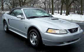 Silver Mustang With Black Stripes 2000 Mustang Gt