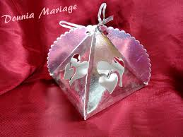 dounia mariage boite gâteau 6