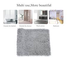 super soft bath mat microfiber shag bathroom rugs non slip 81xy0csximl sl1500 jpg