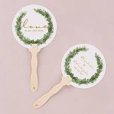 ceremony fans 27 best wedding personalized printed fans images on