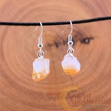 citrine earrings citrine earrings apothecary herb shoppe