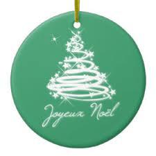 joyeux noel ornaments keepsake ornaments zazzle