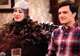 Thanksgiving Snl Skit Video Josh Hutcherson Hosts U0027saturday Night Live U0027 Best And Worst