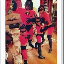 Halloween Costumes Incredibles Jumpsuit Incredibles Family Fashion Halloween Costume Wheretoget