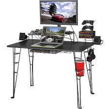 Walmart Desk Computers by Atlantic Gaming Desk Black Walmart Com Office Ideas