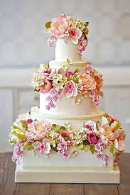 fondant wedding cakes best 25 fondant flower cake ideas on pretty birthday