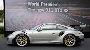 porsche 911 gt2 rs storms into goodwood with 690 hp 553 lb ft