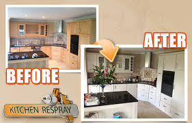 spraying kitchen cabinets unbelievable 5 the kitchen facelift