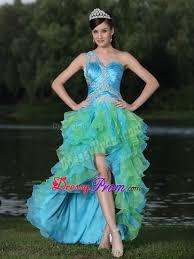 one shoulder neckline quinceanera dress one shoulder prom dresses