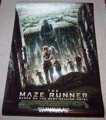 the maze runner original movie poster 27