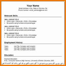 how to format a resume lukex co