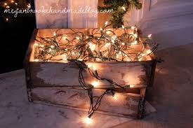 mantel lights lights card and decore