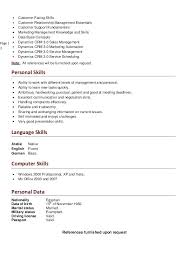 exle skills resume resume language remarkable professionally written manager resume