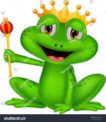 happy frog king cartoon stock vector 166232105 shutterstock