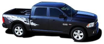 Dodge Dakota Truck Decals - product 2011 2015 dodge ram rage bed graphics solid or multi