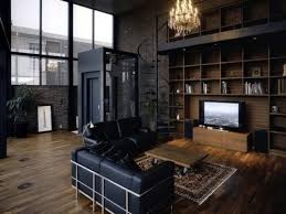 chic manly office decor luxury modern home office office ideas