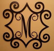 23 best wrought iron images on wrought iron monogram