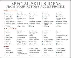 Sample Of Skills Based Resume by Skill Set Resume Template Billybullock Us