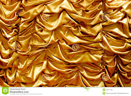 Shiny Gold Curtains Shiny Gold Fabric Curtain Texture Background Stock Image Image
