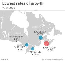 Canadian Provinces Map Canadian Census 2016