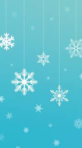 snowflake vector wallpaper free holiday iphone wallpaper