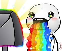 Rainbow Meme - rainbow puke hd puking rainbows know your meme