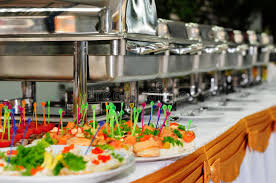 how to set a buffet table with chafing dishes catering wedding stock photo image of chafing equipment 48648106