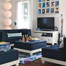 Pottery Barn Teen Couch Pb Teen Awesome Sectional For Lounge Area In Kids Room These