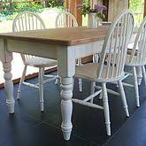 Painted Kitchen Tables And Chairs by Small Round Table U0026 Chair Set Painted In Old White My Favorites