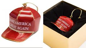 how about hat make america great again ornament receiving