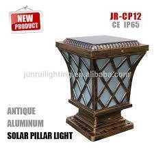 low voltage led column lights solar powered modern pillar ls wisdom solar led outdoor lighting