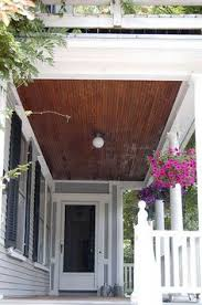 Outdoor Beadboard Ceiling Panels - wood patio ceiling love this home pinterest wood patio