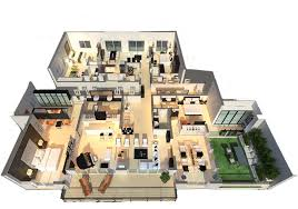 luxury homes floor plans luxury 3d house plans home lines