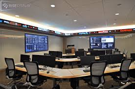 led ticker displays for stocks sports and news rise display
