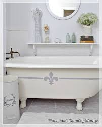 country living bathroom ideas 31 brilliant ways to upcycle transform and fix your bathtub