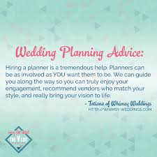 wedding planning advice hiring a planner is a tremendous help