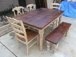 pleasing makingkitchen table from reclaimed wood strikingly of