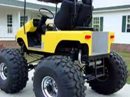 Golf Cart Off Road Tires Monster Golf Cart Extreme Lifted Golf Carts Pinterest Golf