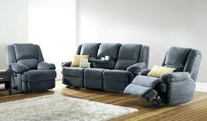 reclining sofas for small spaces smokey grey recliner couch sofa chaise suede leather reclining sofas
