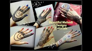 how to apply easy simple jewellery inspired mehndi designs for