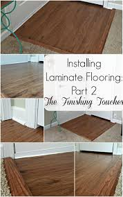 Laminate Flooring With Quarter Round Installing Laminate Flooring Part 2 The Finishing Touches My