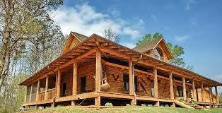 log cabin floor plans with wrap around porch home design ideas