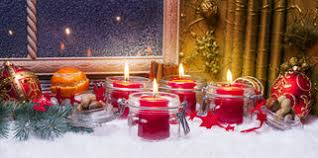 Advent Decorations Fourth Advent Advent Decoration Stock Image Image 56123171