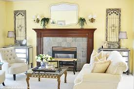 cosy french country living room concept on home interior designing