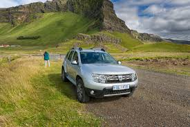 renault dacia duster rent a dacia duster 4x4 manual diesel 2016 in iceland