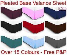 Elasticated Valance Box Pleat Valance Ebay